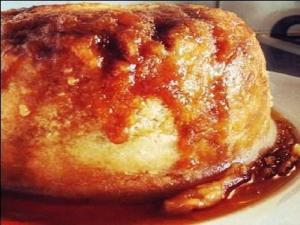 Sherry Cake Pudding