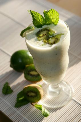 Low Fat Kiwi Milkshake