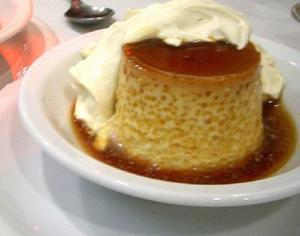 Coffee Flans with Whipped Cream