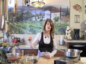 """The Chi Channel.tv Show.""""Chi -Licious Cooking"""" Pasta with Beans, Olives and Artichokes"""