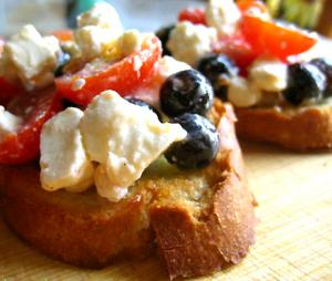 Flat Bread Bruschetta