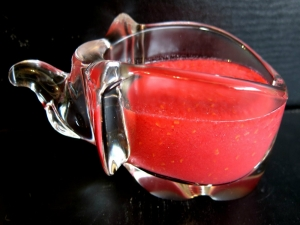 Christmas Raspberry Frangelico Sauce