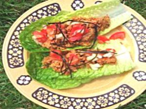 Raw Romaine Tacos