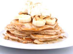 Morning Banana Pancakes
