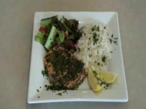 Gluten Free Herbed Rainbow Trout