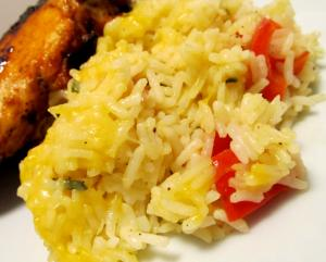 Cheese Rice Bake