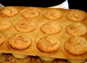 Cinnamon Pecan Nut Muffins