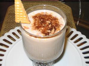 Chocolate milk with semolina by Chef Sonali