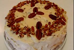Perfect Crunchy Pecan Cream Cheese Frosting