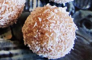 Cashew Lime Coconut Balls