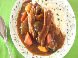 Sparerib Curry (Summer BBQ Idea)