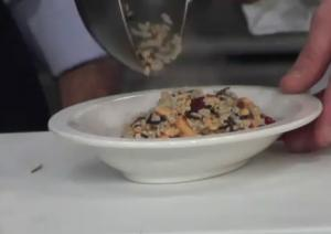 Cashew and Cranberry Wild Rice Pilaf