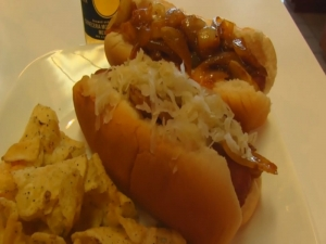 Betty's Husband Rick Makes New York Street Hot Dogs -- 4th of July