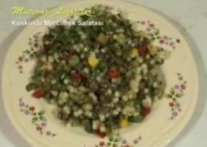 Turkish Kuskuslu Mercimek Salatası