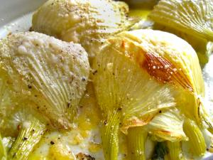 Fennel Baked with Cheese