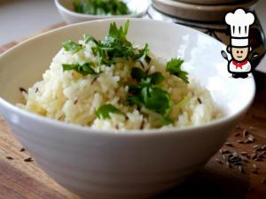 Cumin Rice (Bhat) Featuring Sweet Cumin Cookery School