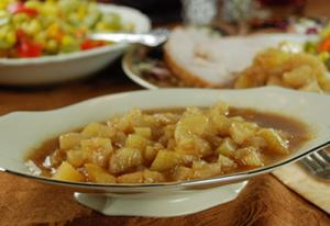 Warm Apple Pear Sauce