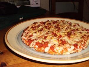 Whole Wheat Tomato Pizza