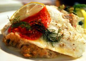 Broiled Black Sole