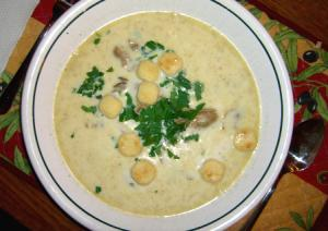 Irish Oyster Soup