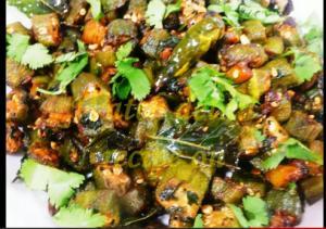 Indian Bhindi Fry
