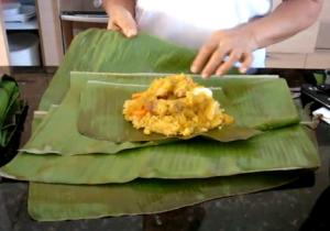 Colombian Tamal Tolimense