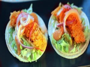 East Meats West Chicken Tacos