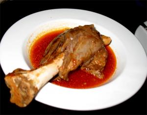 Herbed Lamb Shanks