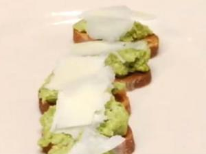 How to Whip Up An Easy Spring Appetizer: Fairway Market - Fava Bean Crostini
