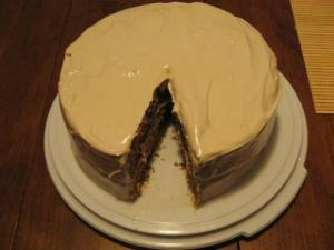 Apple Cake With Maple Frosting