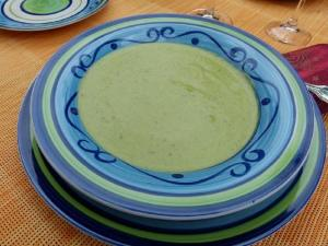 Satin Pea Soup