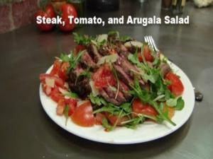 Sliced ​​Beef with Tomatoes, Arugula and Parmesan - Collaboration with EnjoyDifferentTaste