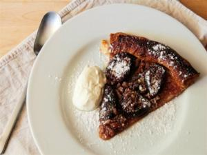 Honey, Fig and Walnut Tart