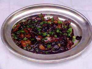 Crab In Black Bean Sauce