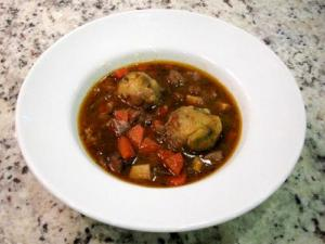 Irish Stew with Parsley Dumplings