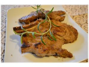Seared Ginger and Garlic Pork Chops
