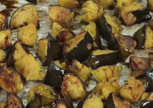 Winter Squash with Basting Oil