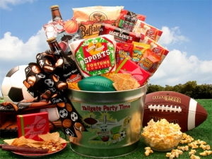 Super Bowl tailgate-party