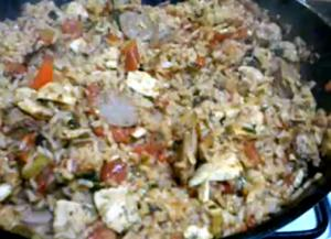 Easy pork jambalaya recipe