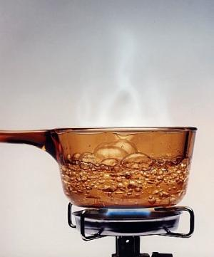 how to boil sparkling water