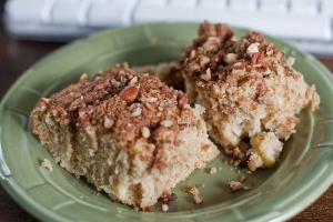 Butter Pecan Snack Cake