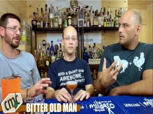 The Bitter Old Man Cocktail, With Tobacco Vodka