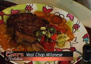 Milanese Style Veal Chop