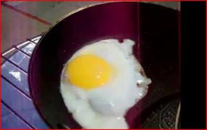 Sizzling Solar Fried Egg