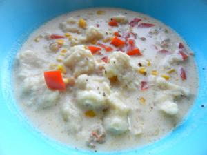 Shrimp Corn Soup