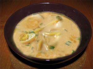 Burmese Khow Suey - Curry Noodle Soup