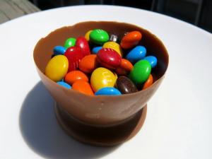 Mini Chocolate Balloon Bowls