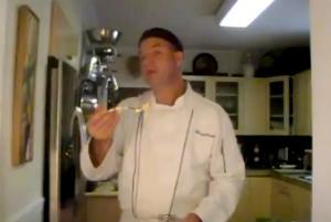 Fettuccine In Alfredo Sauce