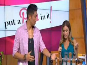 """Put a Pin In It!"" with Chef Ronnie on Good Day LA"