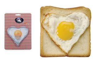 Heart Shaped Egg Molder